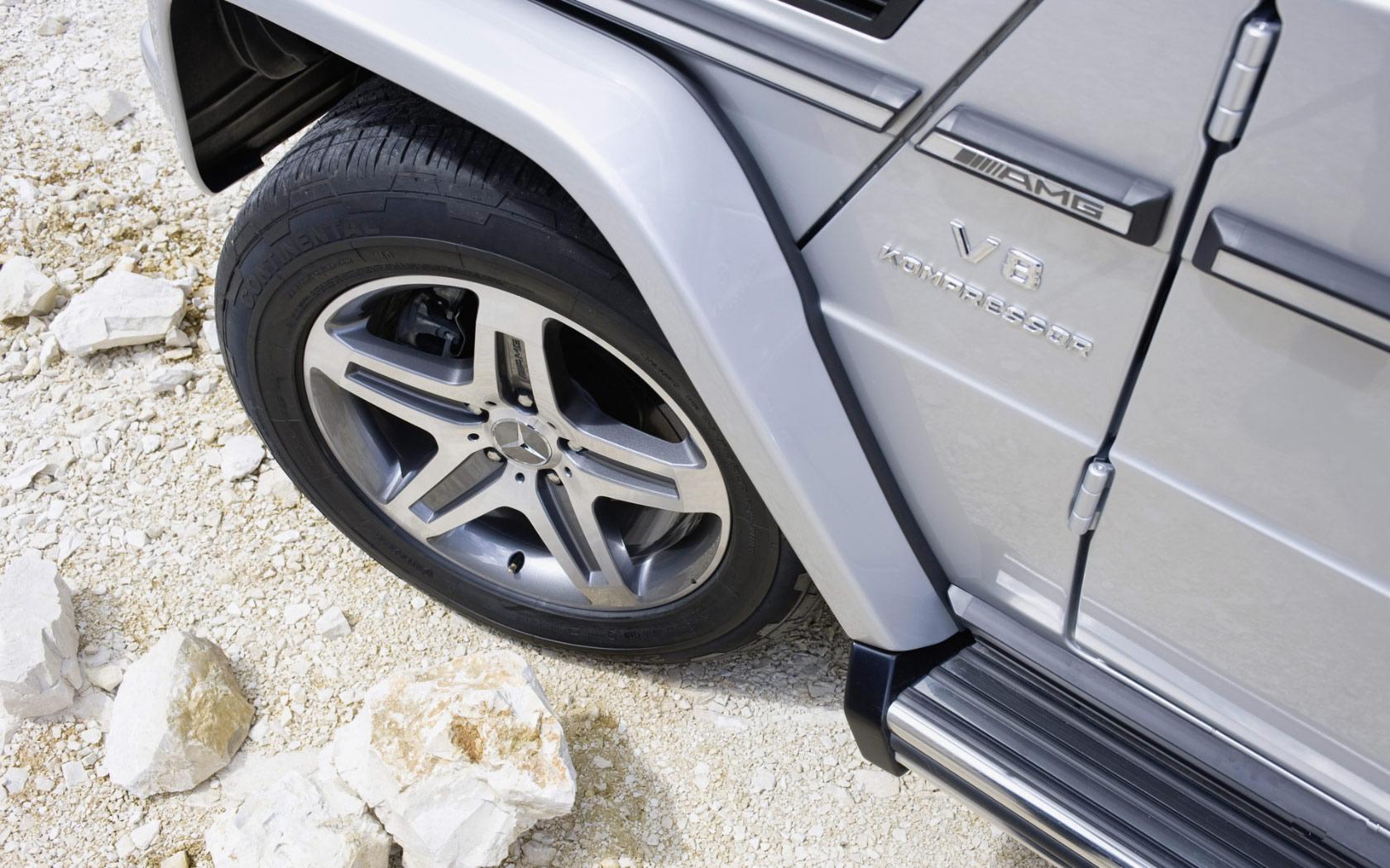 奔驰G55 AMG高清图片