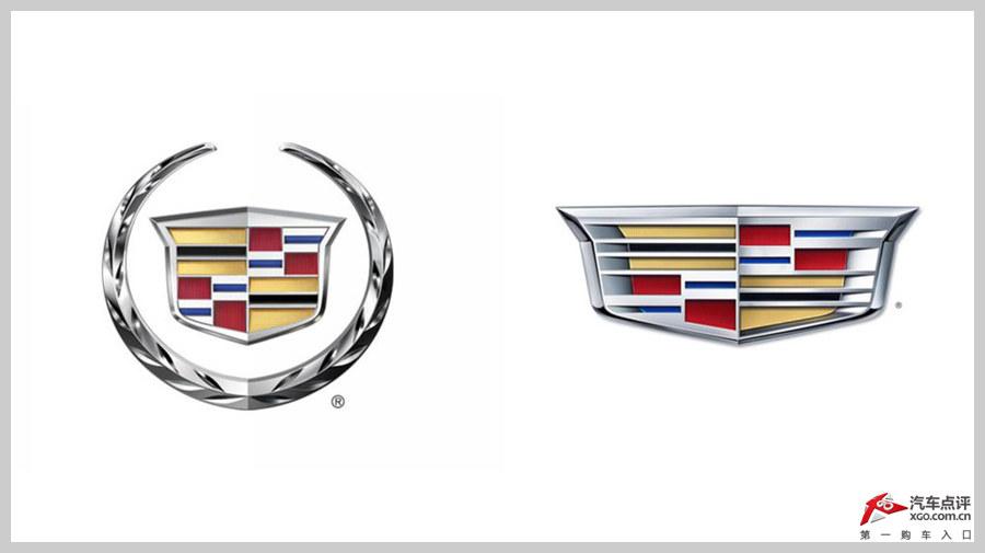 与之前凯迪拉克的logo相比