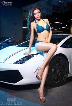 长腿女神的红色情节列表_香车美女