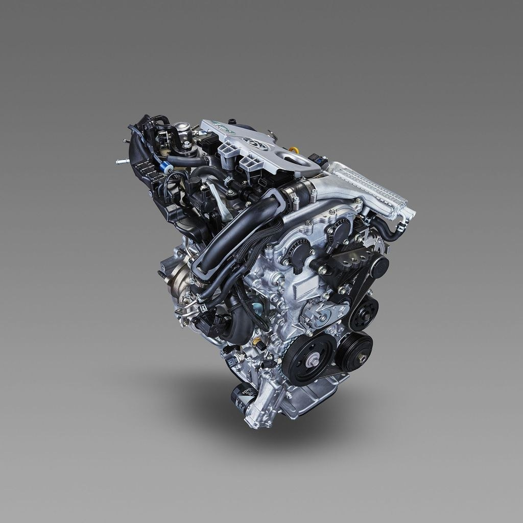 2% 丰田8nr-fts型1.2t发动机