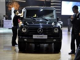 2009广州车展奔驰G500
