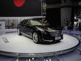 2015广州车展凯迪拉克CT6