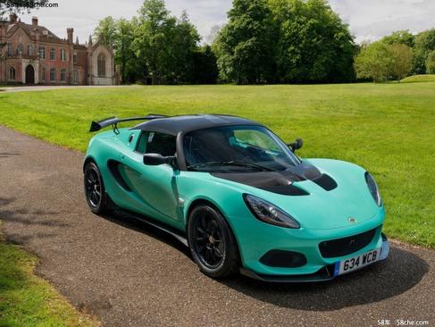 再次减重 Lotus Elise Cup 250