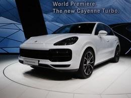国际车展全新卡宴turbo