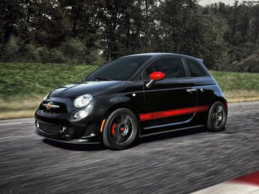 暴躁天蝎 Fiat 500 Abarth