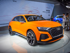 2017广州车展实拍 奥迪Q8 Sport概念车
