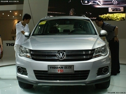 2010呼和浩特车展上海大众途观