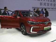 北京车展 北汽新能源EU5售价12.99万起