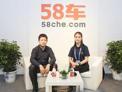 北京车展 访庆长风商贸销售副总监展增跃