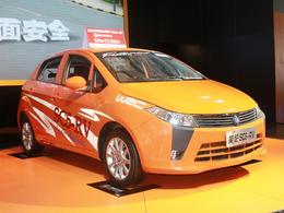 2011哈尔滨车展英伦SC5-RV