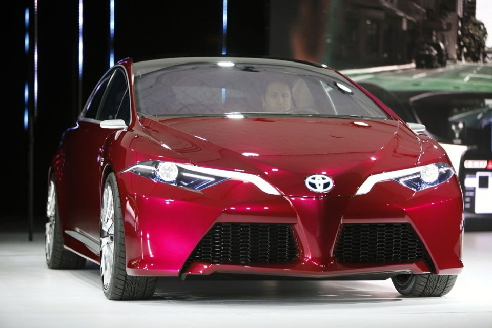 展示未来设计方向 丰田推ns4混动概念车