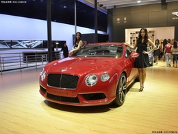 2012北京车展全新欧陆GT V8
